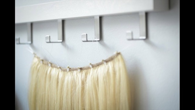 Utah mom creates do it yourself hair extensions solutioingenieria Image collections