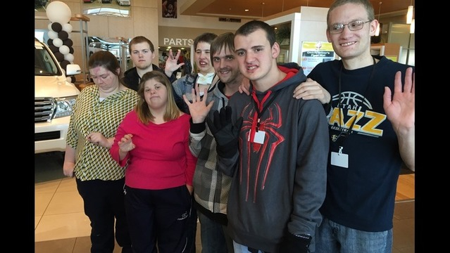 Karl Malone Toyota Invites Special Needs Students To Work At The Dealership