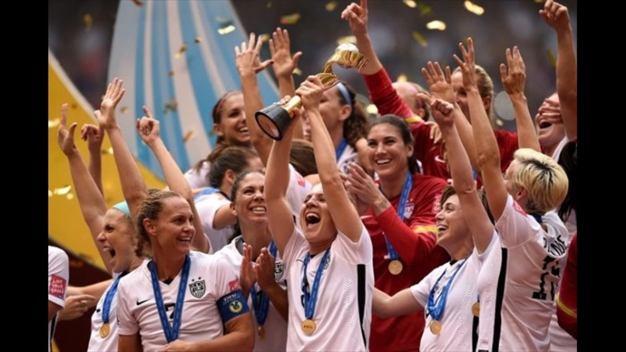 38693a0ef41 Carli Lloyd s hat trick gives US Women victory over Japan in Women s World  Cup final