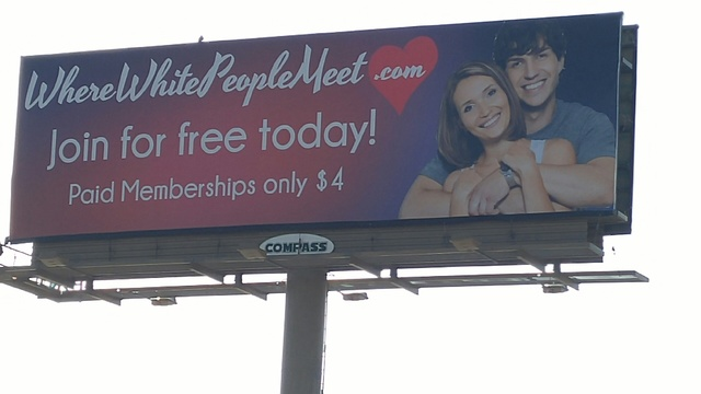 white dating site controversy