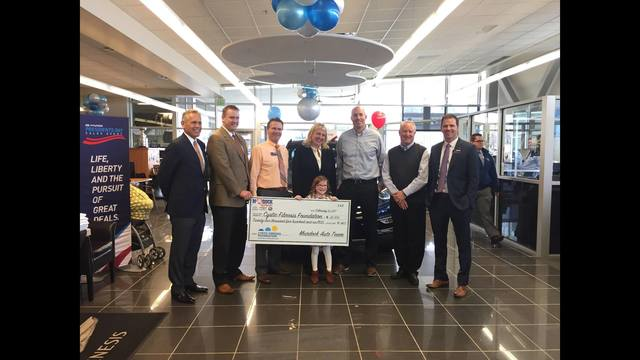 Murdock Auto Group, Goldenwest Credit Union Donate to Help Fight Cystic Fibrosis