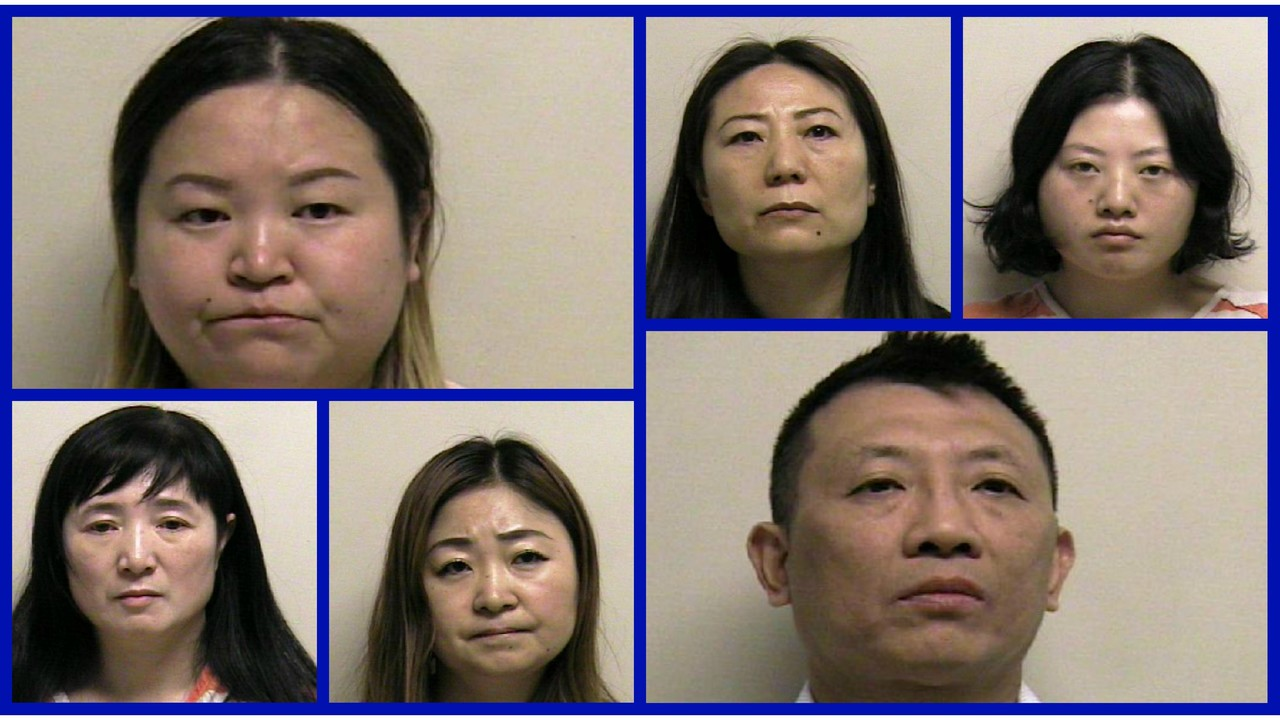 six arrested after police uncover massage prostitution ring in utah