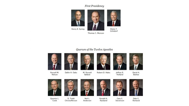 Who will take over the role of Thomas S. Monson? - GOOD4UTAH