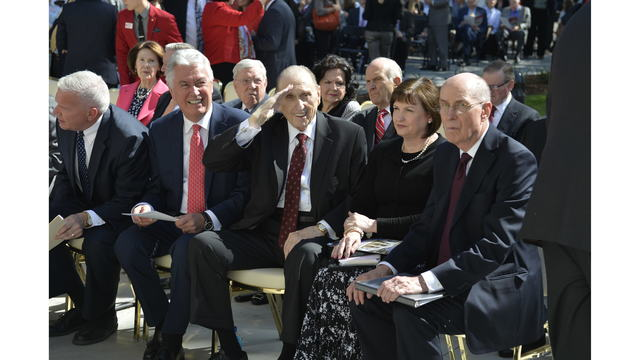 Leaders of LDS Church says Monson's legacy will live on