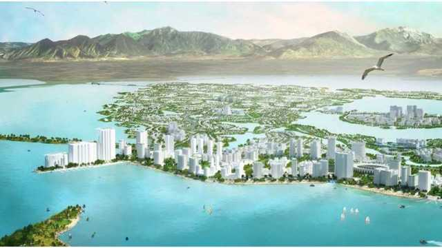 Development group seeks to build an island city in the middle of ...