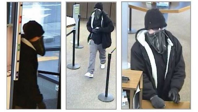 Police release surveillance photos of SLC bank robbery suspect