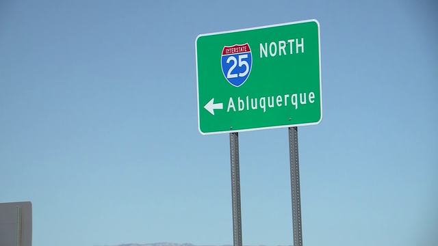 Sign directing people to New Mexico's largest city misspelled