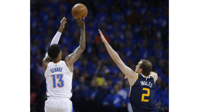 By George, the Jazz lose Game 1 to Oklahoma City, 116-108
