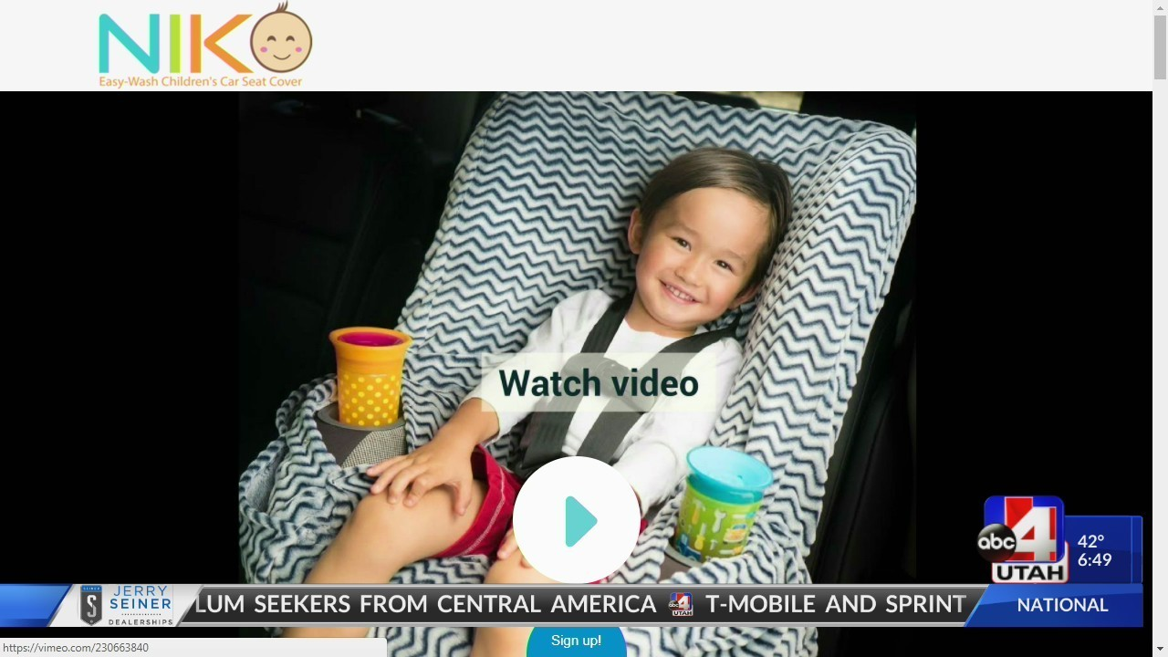 Mom invents car seat cover to keep germs and messes at bay - GOOD4UTAH