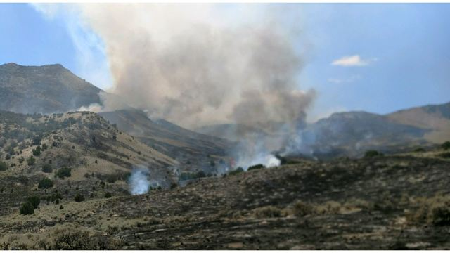 Patterson Pass Fire scorches BLM land in Box Elder County