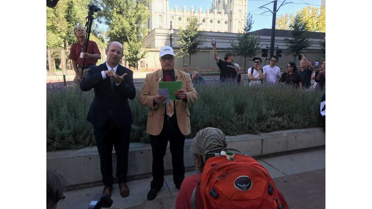 Former LDS bishop Sam Young, leader of Protect LDS Children, officially ex-communicated