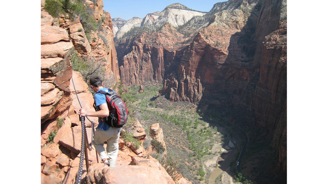 zion s angels landing reopens following storm damage