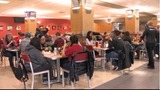 Hundreds of college students participate in service projects honoring Dr. Martin Luther King Jr.