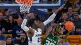 Utah State rolls to third straight win, beating Colorado State, 87-72