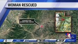 Woman rescued from Spanish Fork Canyon